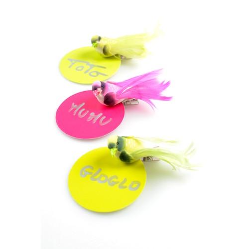 D coration mariage oiseaux artificiel vert un jour sp cial for Oiseaux artificiels de decoration