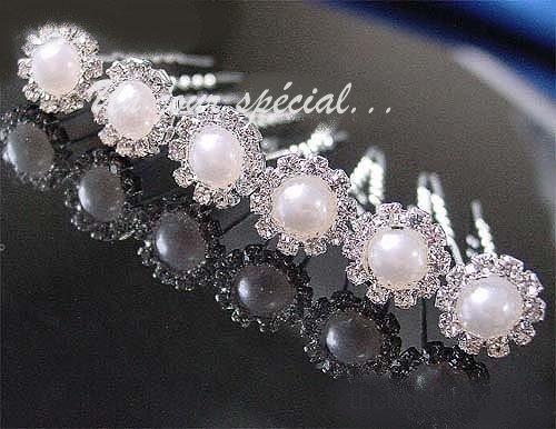 pic chignon pingle cheveux mariage pas cher cristal et perles un jour sp cial. Black Bedroom Furniture Sets. Home Design Ideas
